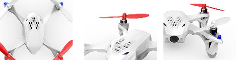 Hubsan H107D X4 FPV Drone Specs