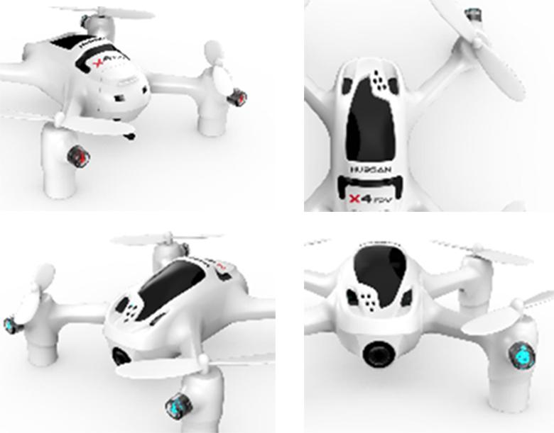 Hubsan H107D+ X4 FPV Plus Mini Quadcopter Specs
