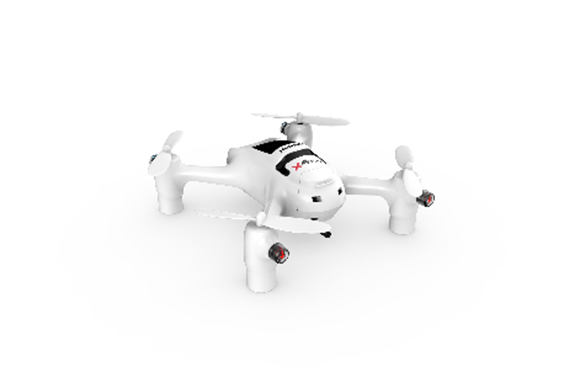Hubsan H107D+ X4 FPV Plus Mini Quadcopter