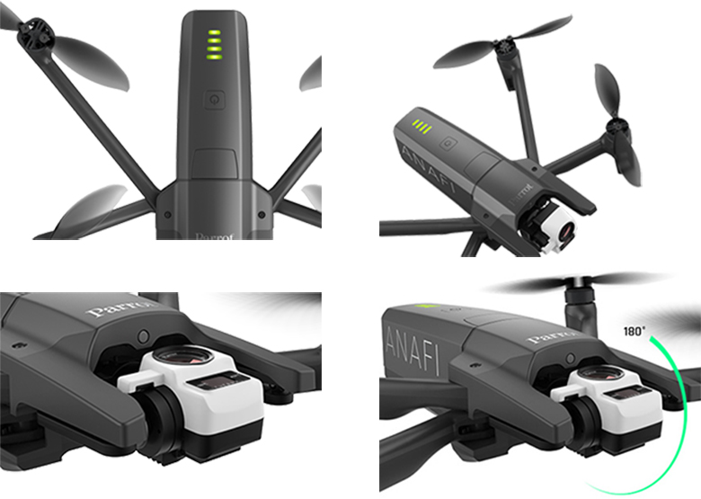 Parrot 2019 Anafi Thermal Drone Specs